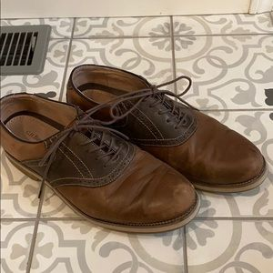 Men's GH bass tan and brown oxford